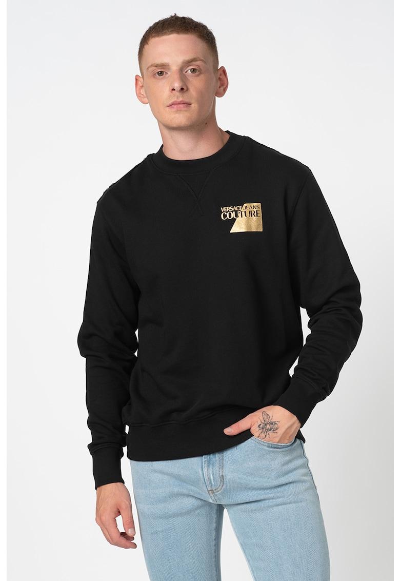 Bluza sport slim fit cu imprimeu logo