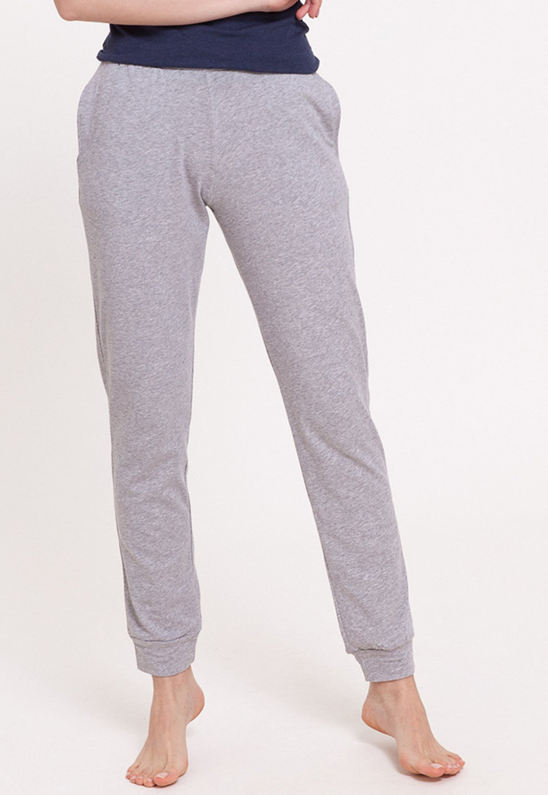Pantaloni de pijama din amestec de bumbac