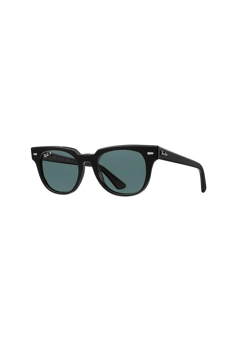 Ochelari de soare wayfarer unisex polarizati cu lentile uni