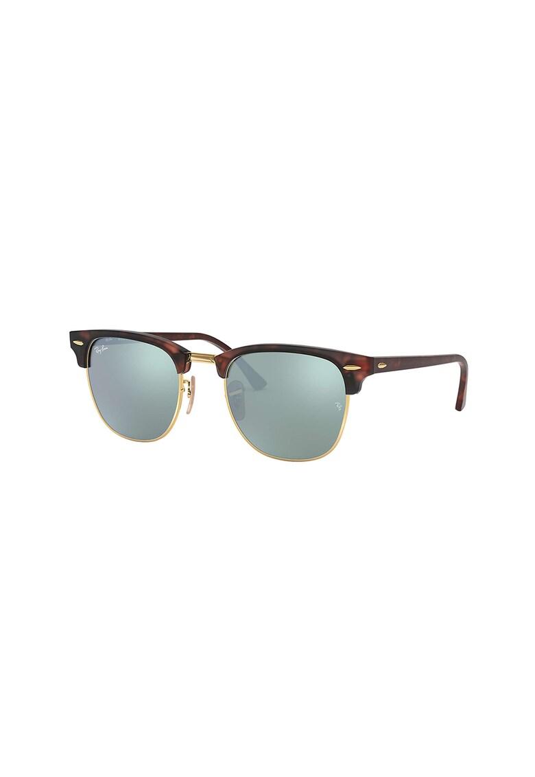 Ochelari de soare clubmaster cu lentile uni 3