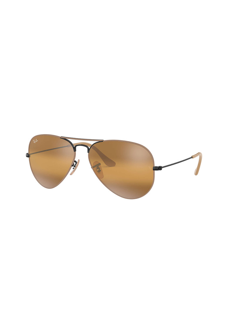 Ochelari de soare aviator cu brate metalice imagine