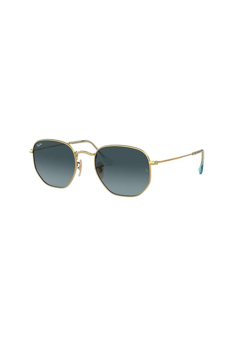 Ochelari de soare unisex cu lentile in degrade imagine fashiondays.ro 2021