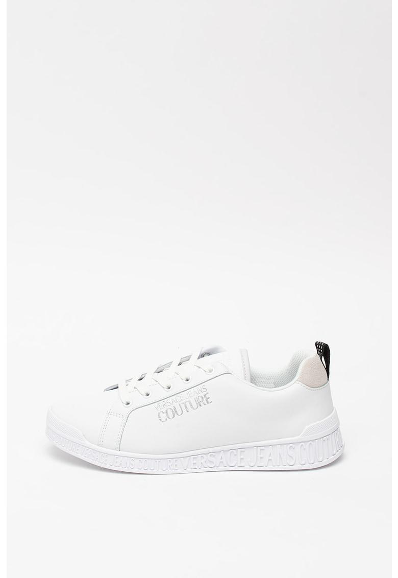 Pantofi sport din piele cu logo stralucitor Penny 1