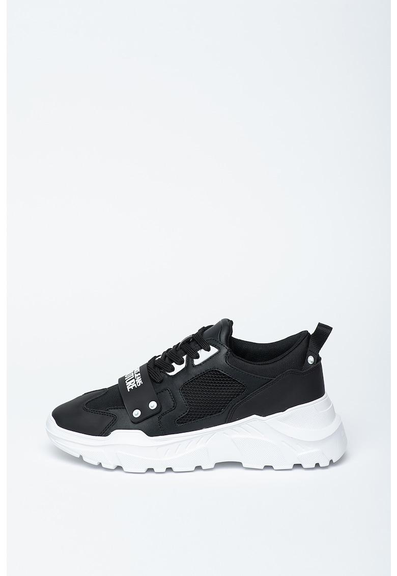Pantofi sport cu garnituri din piele Speed