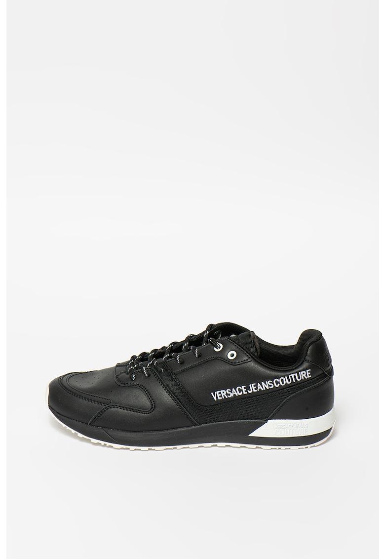 Pantofi sport low cut cu broderie logo