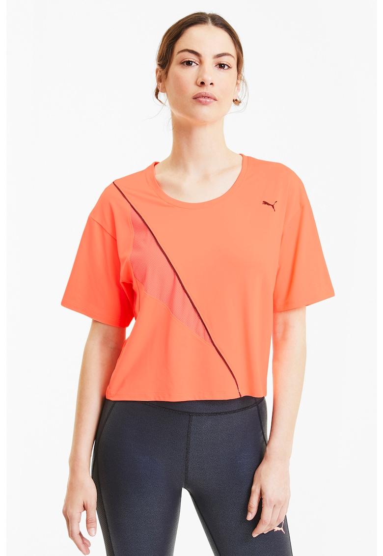 Tricou cu tehnologie DryCELL pentru fitness Train Pearl Puma fashiondays.ro