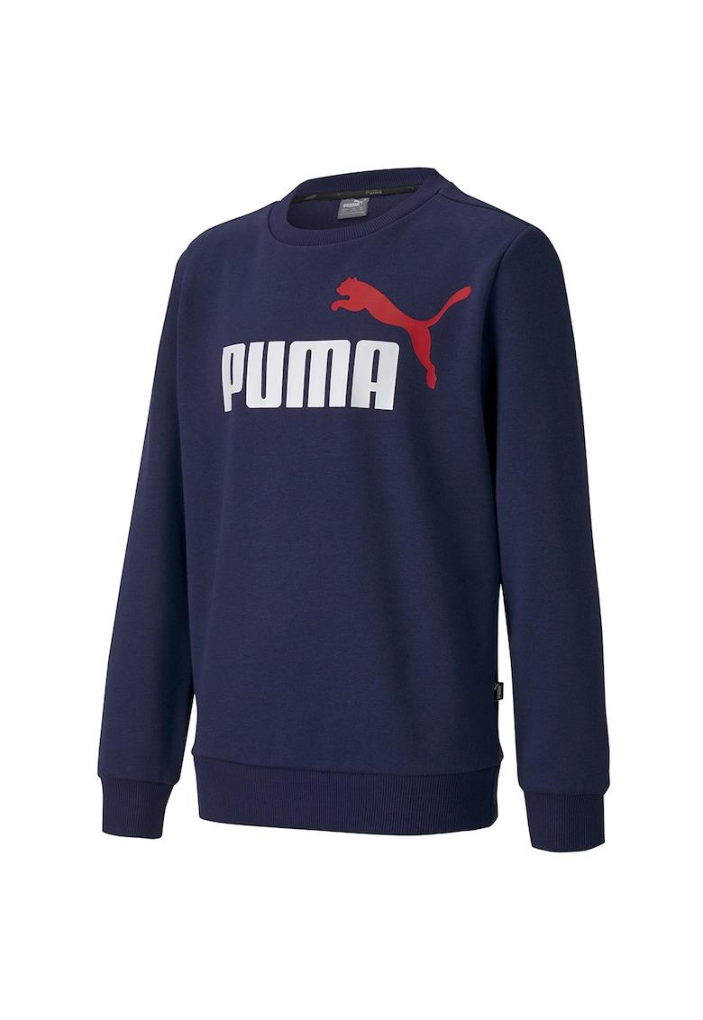Bluza sport cu decolteu la baza gatului si logo Essentials imagine