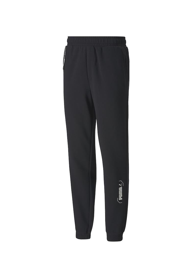 Pantaloni cu detaliu logo Nu-Tility