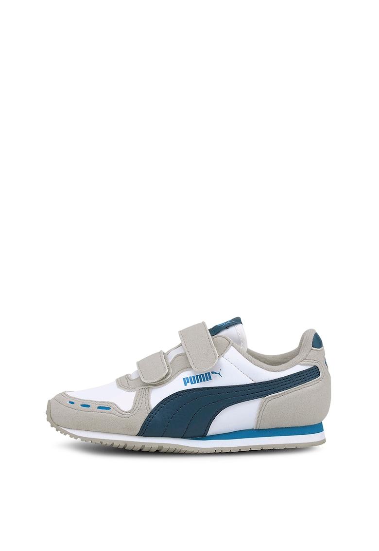 Pantofi sport din piele intoarsa ecologica Caban Racer SL