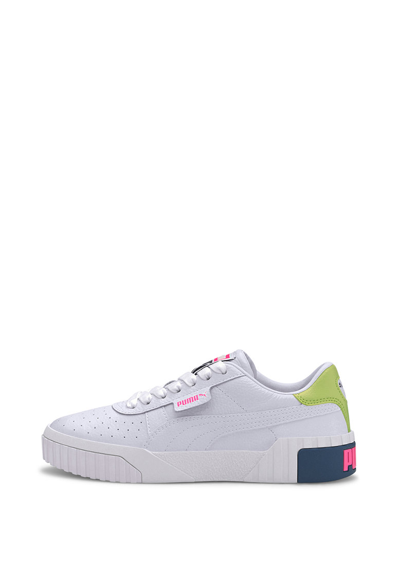 Pantofi sport de piele cu insertii de piele ecologica Carina 2