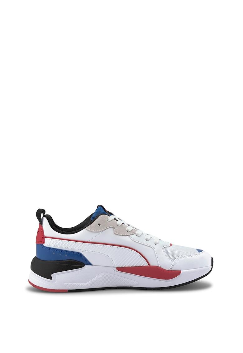 Pantofi sport unisex cu garnituri de piele intoarsa X-Ray Game Puma imagine 2021