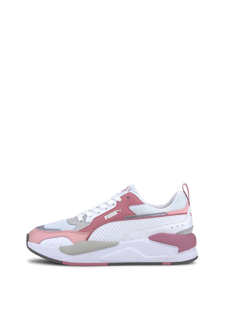 Pantofi sport cu insertii de piele intoarsa RS 2.0 Mono Metal 3