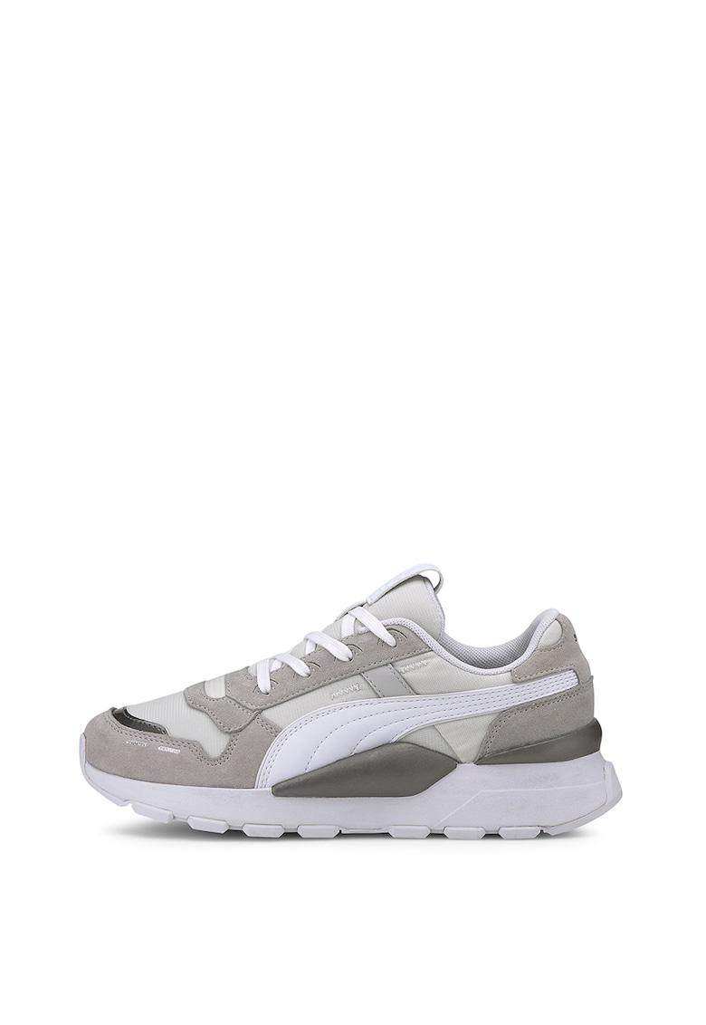 Pantofi sport cu insertii de piele intoarsa RS 2.0 Mono Metal 1