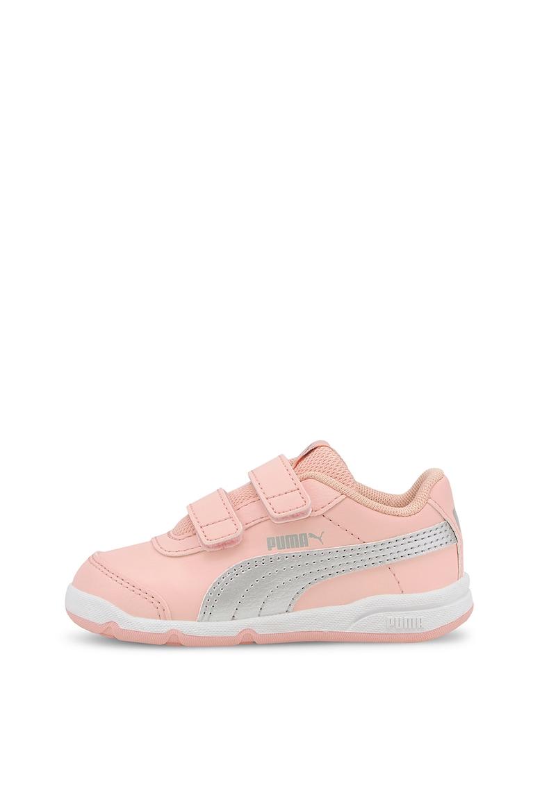 Pantofi sport din piele ecologica - cu velcro Stepfleex 2 SL