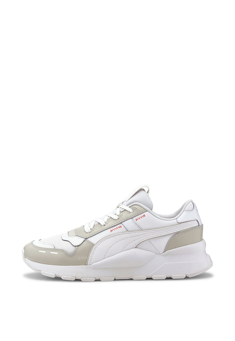 Pantofi sport de piele ecologica si material textil RS 2.0 Base