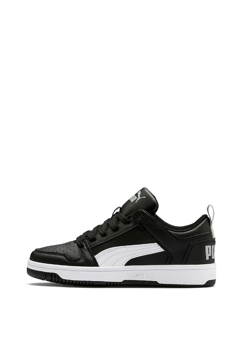 Pantofi sport de piele ecologica Rebound Layup de la Puma