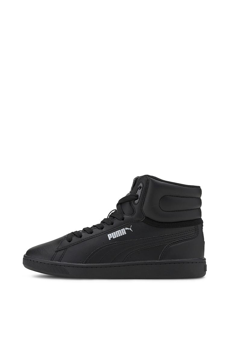 Pantofi sport mid-high de piele ecologica Vikky v2 SL Jr