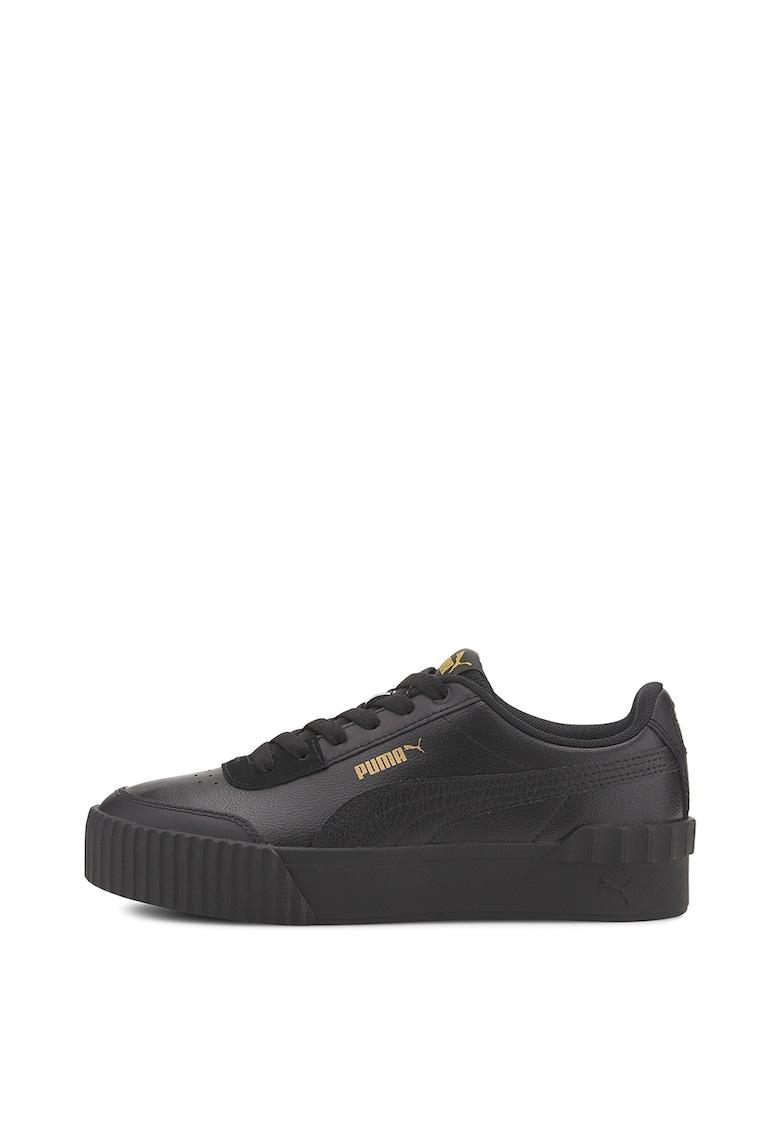 Pantofi sport de piele si piele ecologica Carina Lift