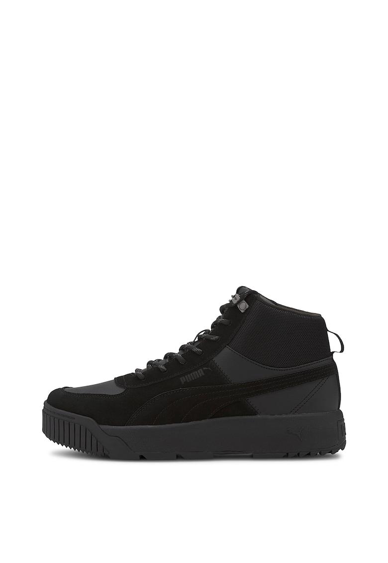 Pantofi sport mid-high cu insertii de piele intoarsa unisex Tarrenz
