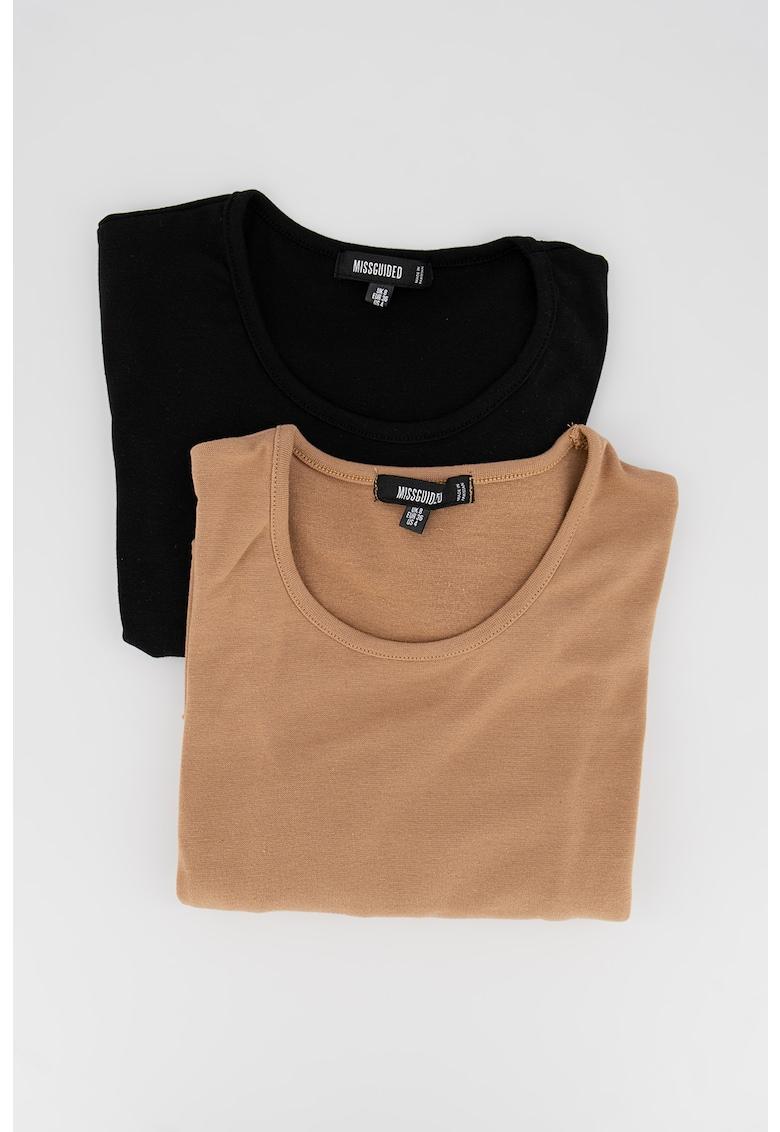 Set de bluze crop - 2 piese imagine fashiondays.ro Missguided