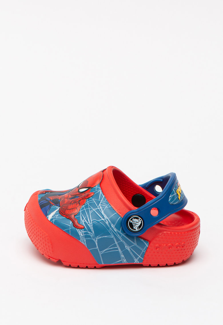 Saboti slingback cu model Spiderman imagine
