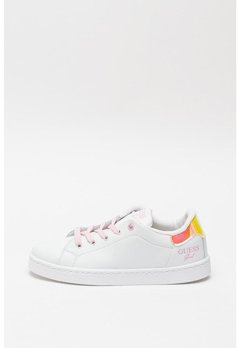 Pantofi sport de piele ecologica - cu detalii irizate Lucele