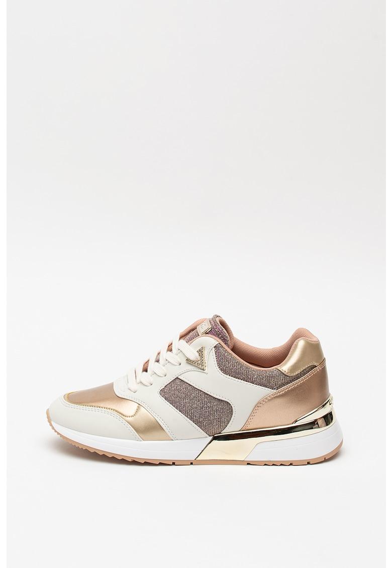 Pantofi sport cu insertii stralucitoare