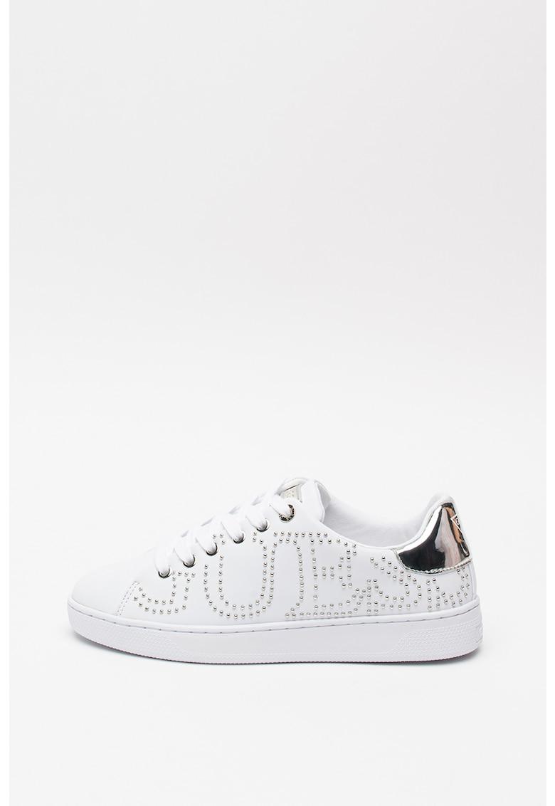 Pantofi sport de piele ecologica - cu nituri 1