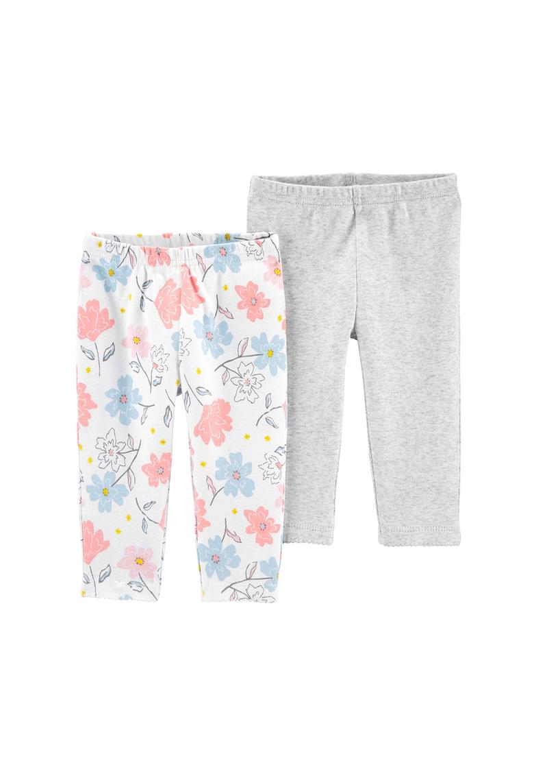 Set de 2 perechi de pantaloni din bumbac organic imagine fashiondays.ro