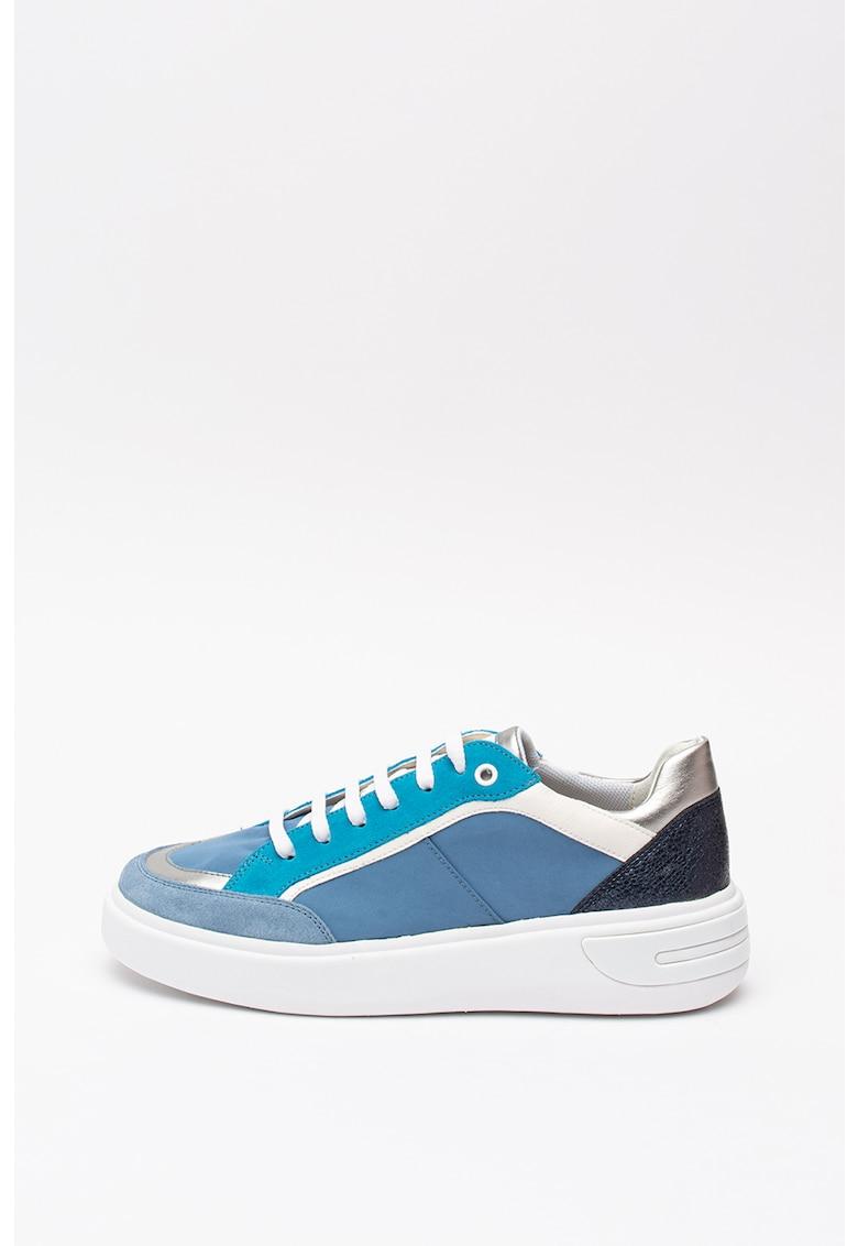 Pantofi sport cu insertii din piele intoarsa Ottaya 1