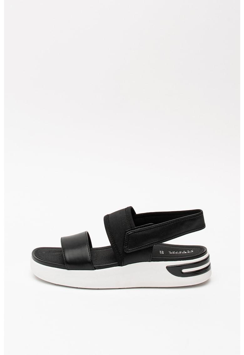 Sandale cu talpa wedge Ottaya
