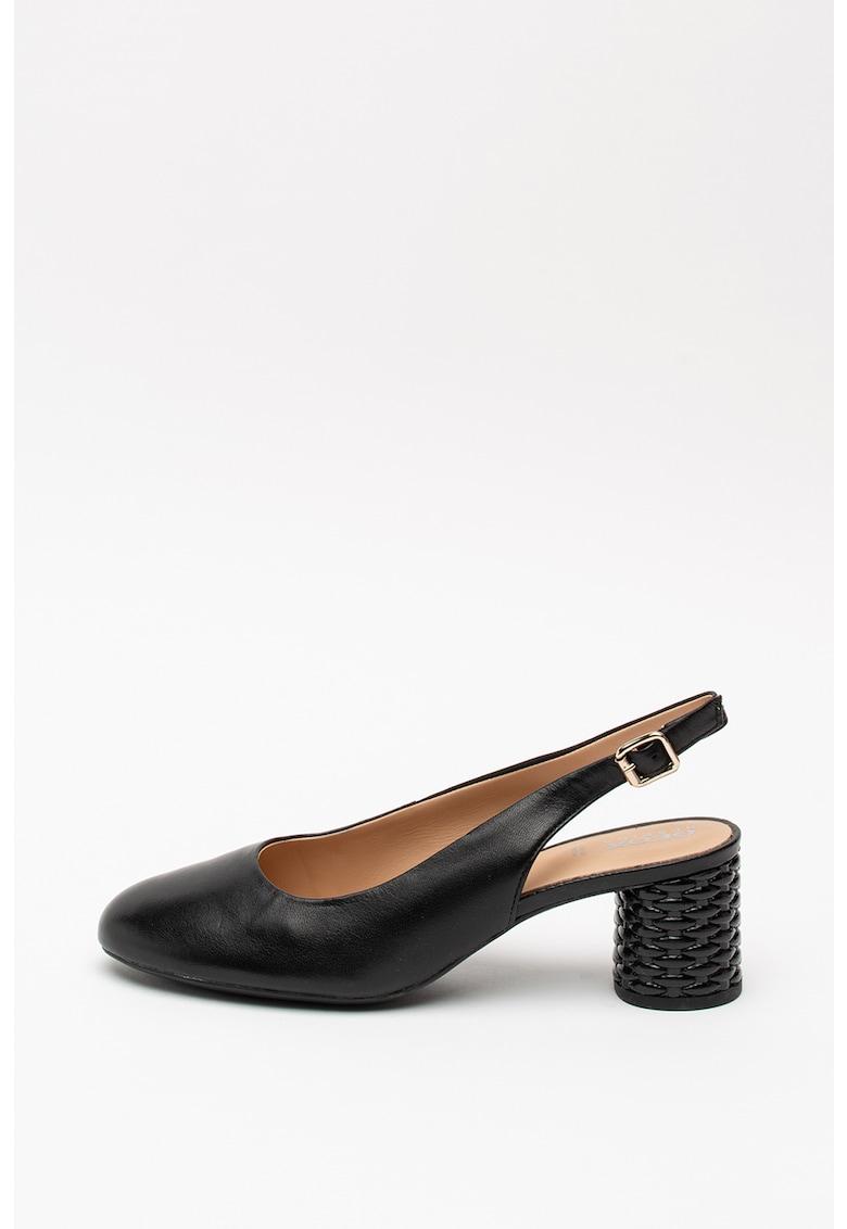 Pantofi slingback de piele Ortensia