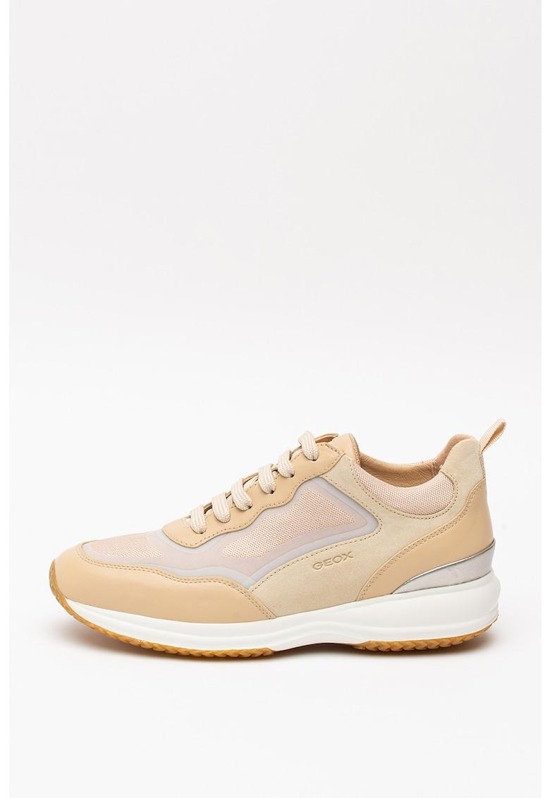 Pantofi sport cu insertii din piele intoarsa Ottaya 2
