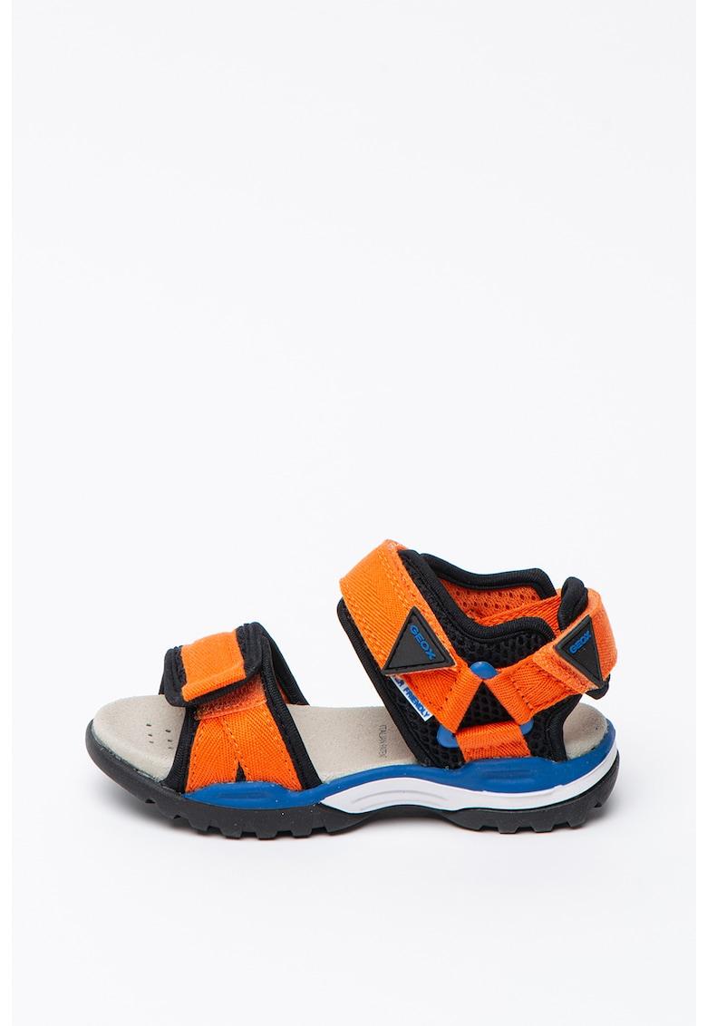 Sandale cu design colorblock Borealis