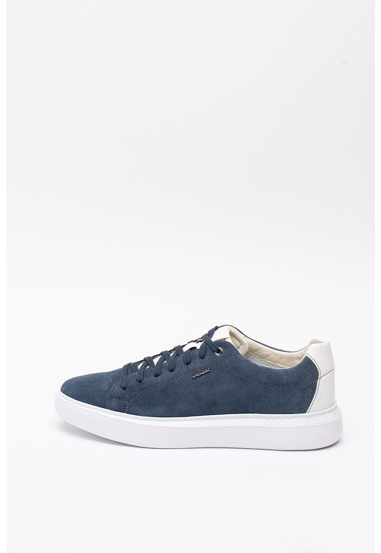 Pantofi sport din piele si material textil Regale 3