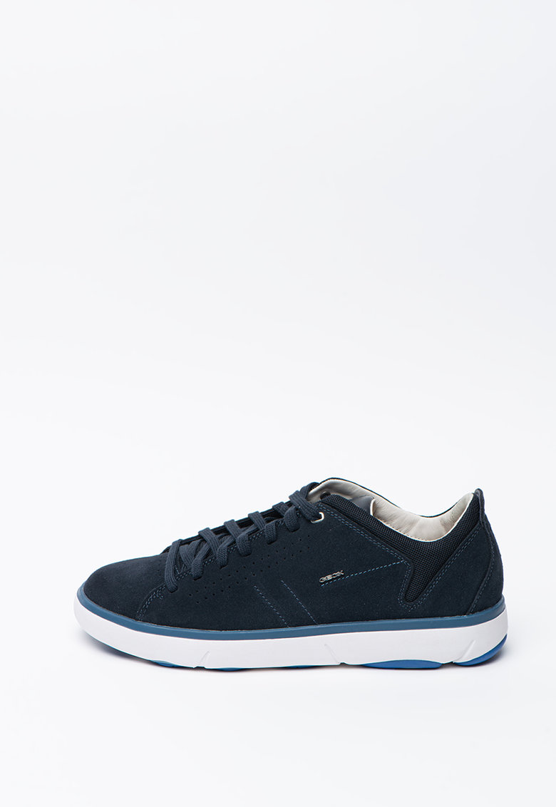 Pantofi sport din piele intoarsa si material textil Volto 3