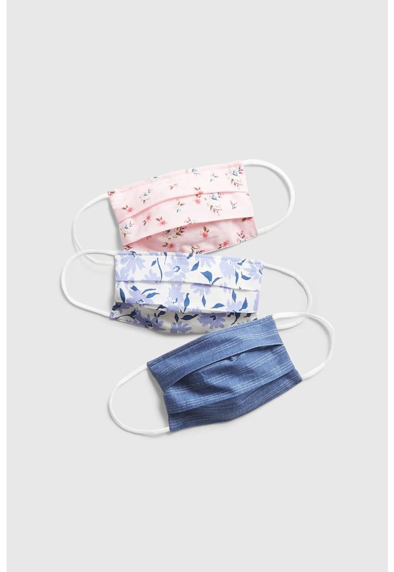 Set de masti de protectie reutilizabile - 3 piese