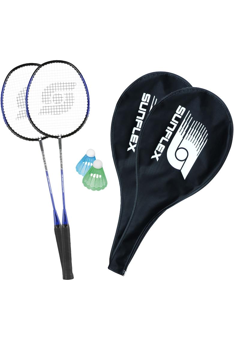 Set badminton Supreme - 2 palete+2 huse+2 fluturasi