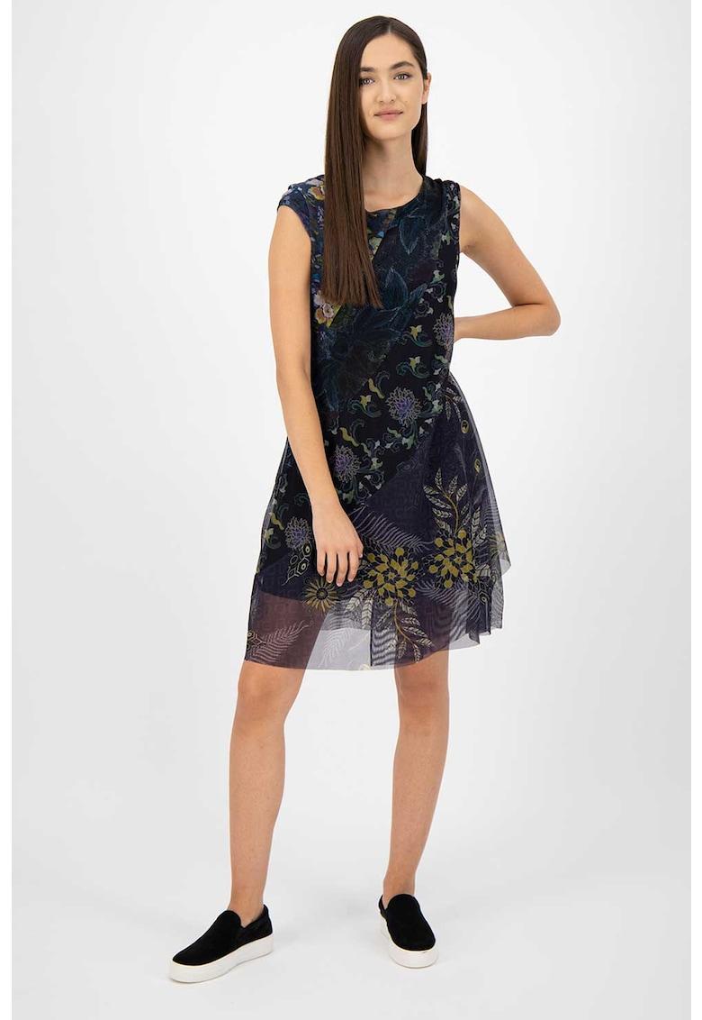 Rochie mini cu diverse imprimeuri