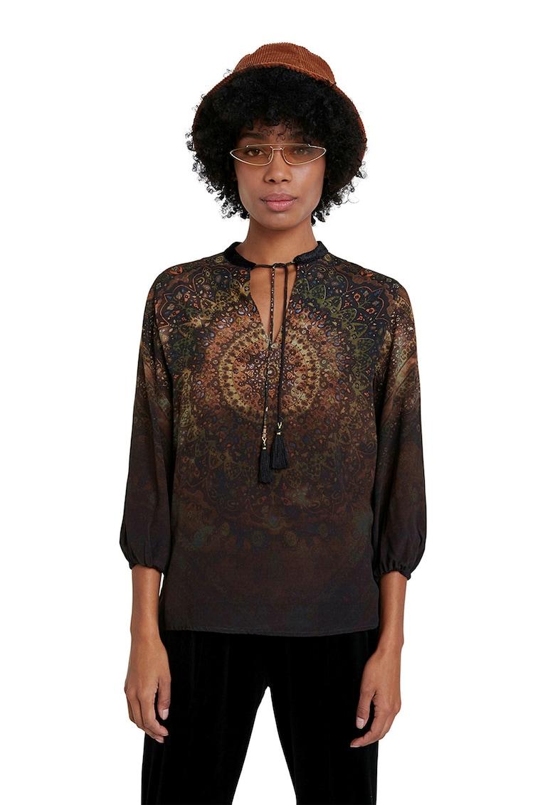 Bluza cu imprimeu mandala