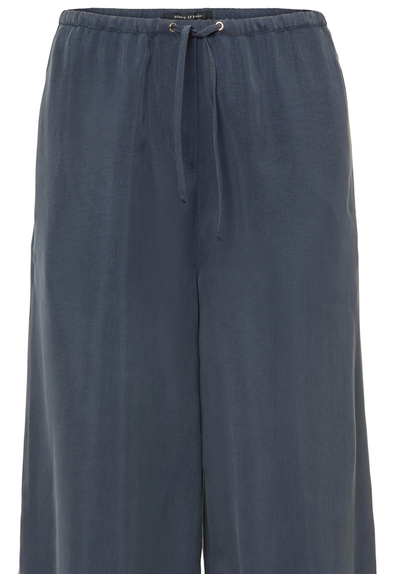 Pantaloni culotte cu snur de ajustare