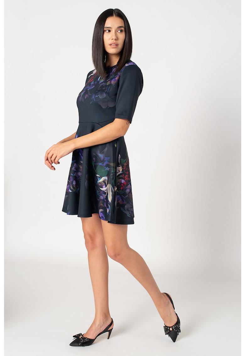 Rochie cu imprimeu floral Alephne imagine promotie