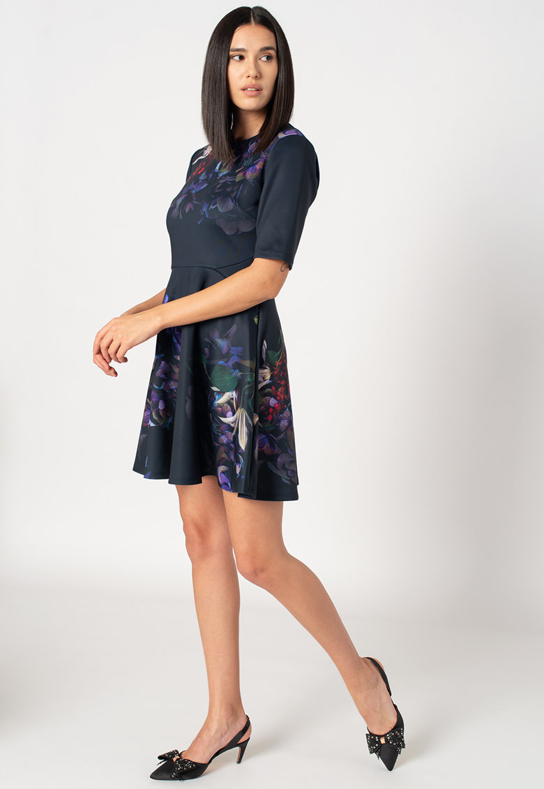 Rochie cu imprimeu floral Alephne