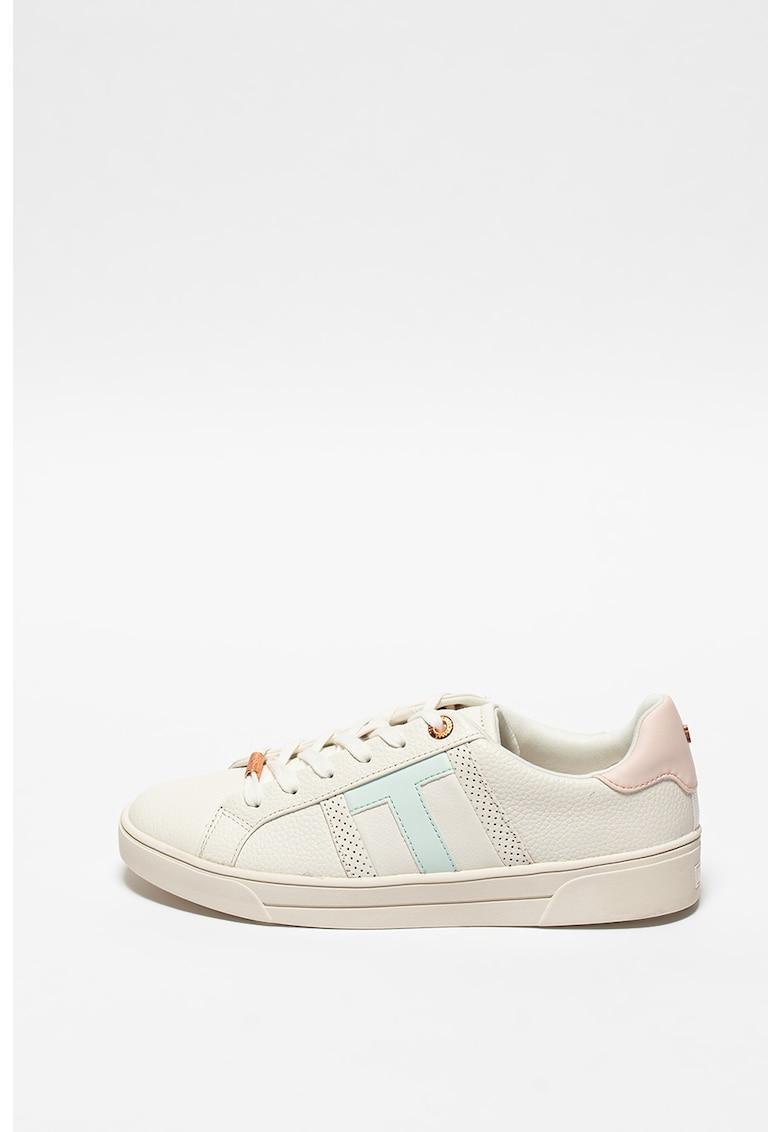Pantofi sport low cut de piele Ottoli imagine promotie