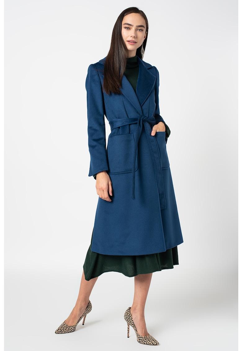 Palton din lana - cu buzunare aplicate Runaway imagine promotie
