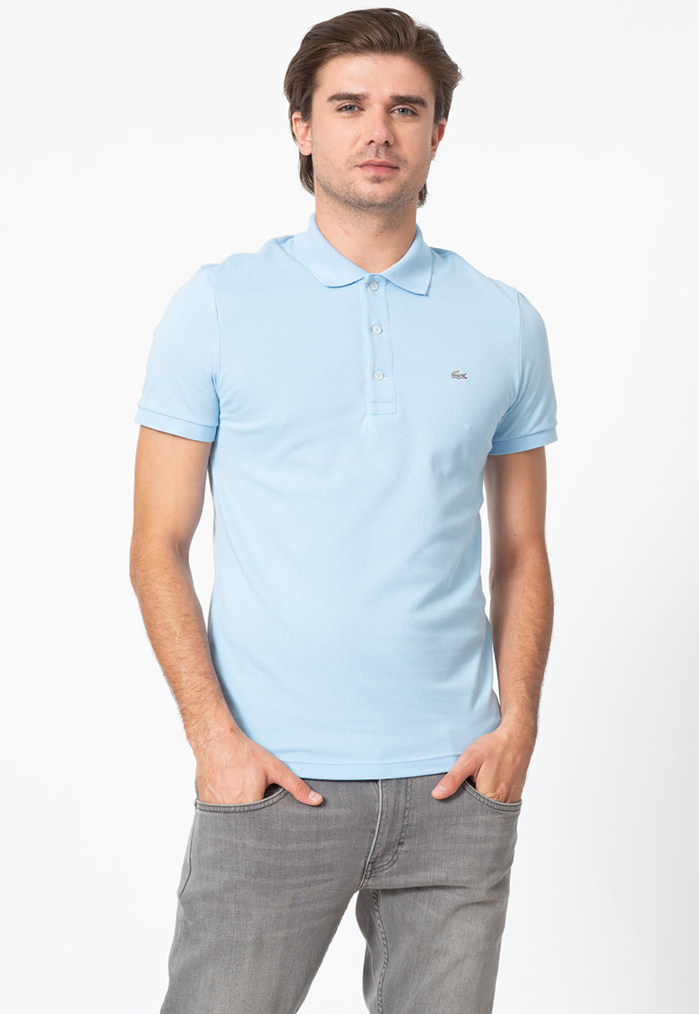 Lacoste Tricou polo slim fit din material pique