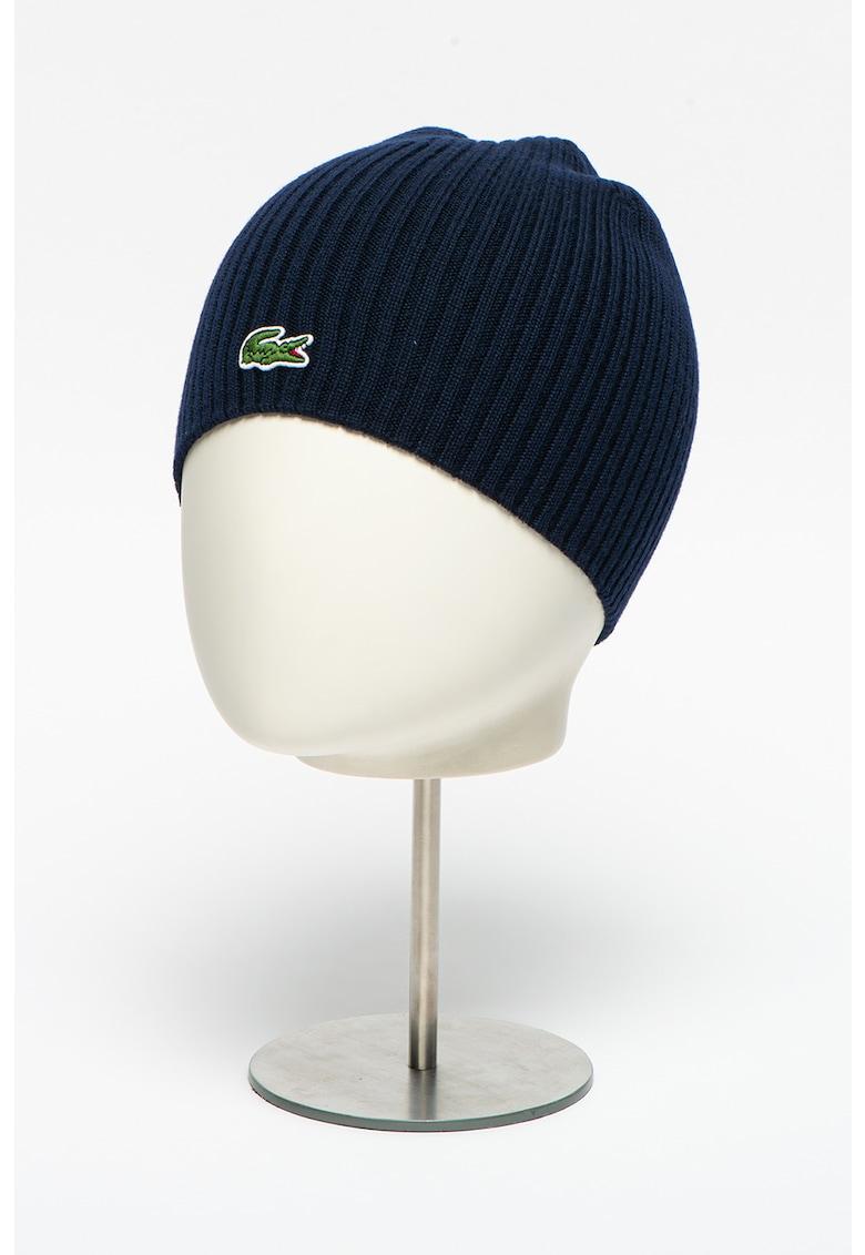 Caciula din lana cu logo brodat imagine promotie
