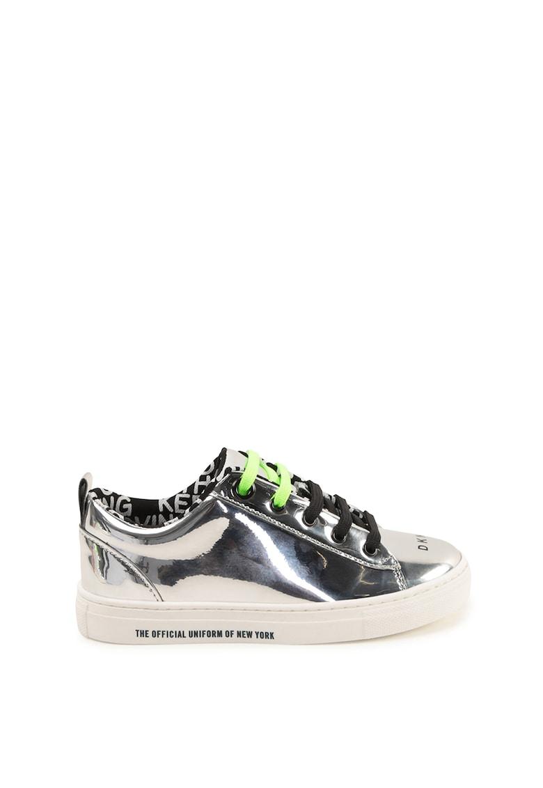 Pantofi sport din piele ecologica Glossy