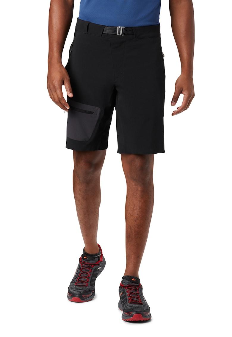 Pantaloni scurti cu buzunare laterale cu fermoar Titan Pass imagine fashiondays.ro