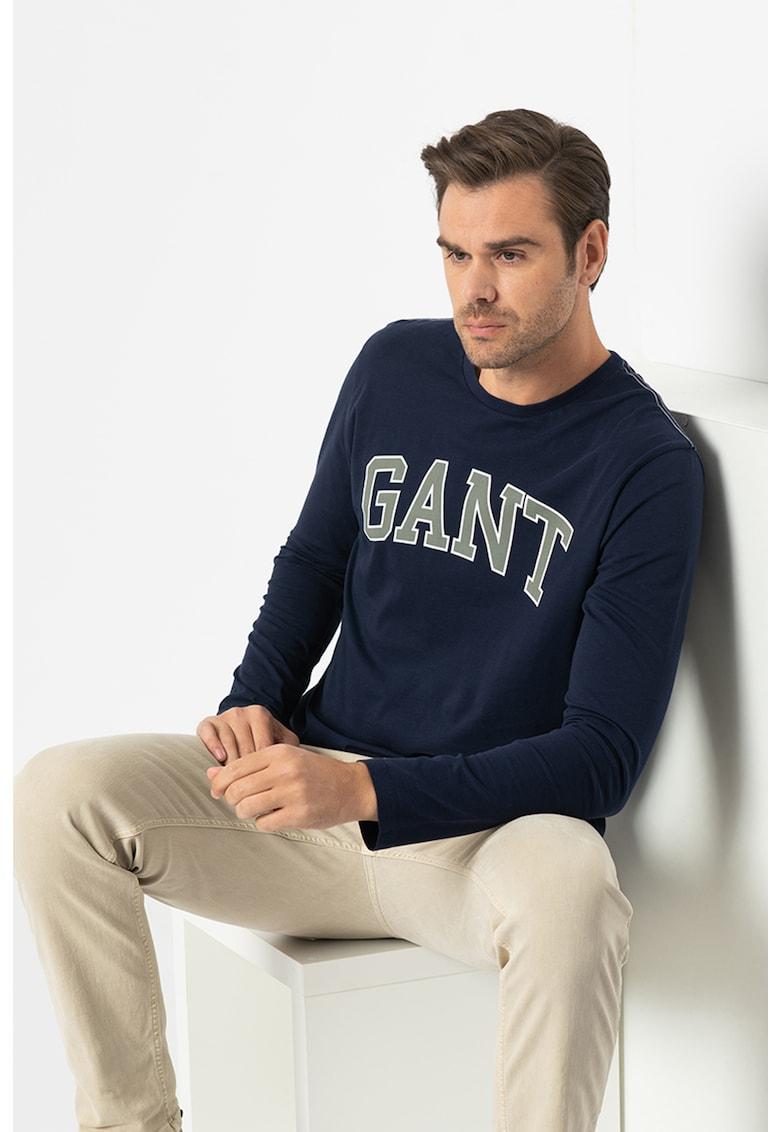 Bluza regular fit cu imprimeu logo imagine